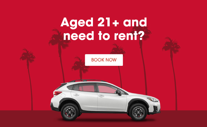 Age 21+ and need to rent?